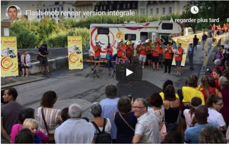 Retour sur la flash-mob du 29 avril 2019